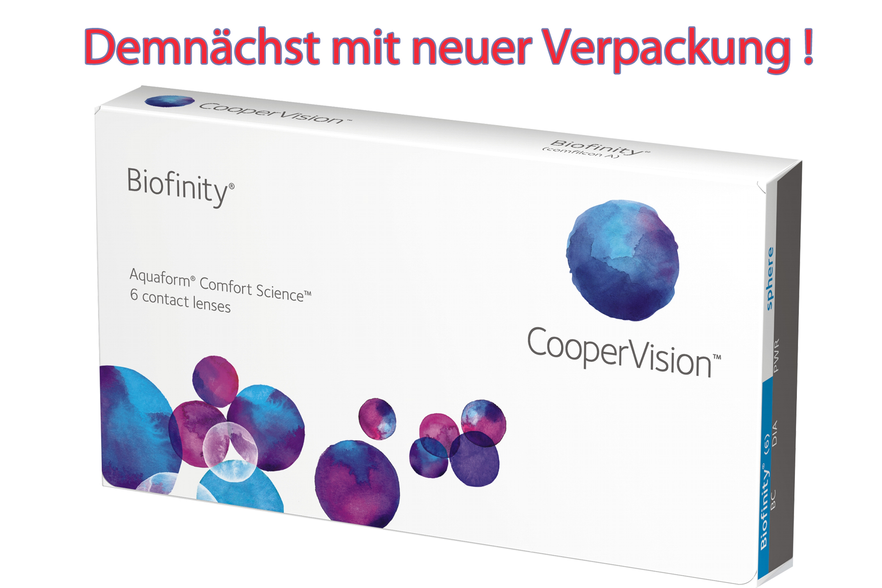 Cooper Vision Biofinity 6er Box