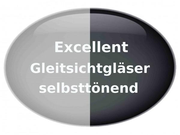 Excellent Gleitsichtgläser selbsttönend Hart Superentspiegelung