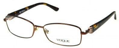 Vogue VO 3845B 896 in Braun