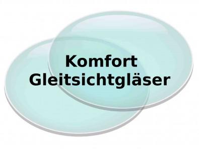 Komfort Gleitsichtgläser inkl. Hartschicht  Superentspiegelung