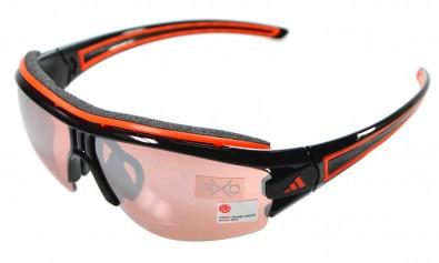 adidas S a168 6068 Evil eye halfrim pro inkl. Sehstärkenclip schwarz orange