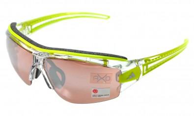 adidas XS a180 6076 Evil eye halfrim pro inkl. Sehstärkenclip christal/ green