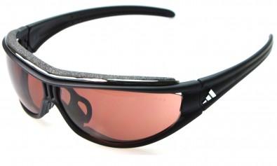 adidas L a126 6082 evil eye pro matt black/chrome inkl. Sehstärkenclip