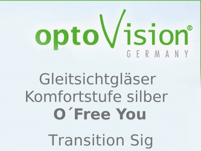 OptoVision Gleitsichtgläser O´Free You Transition Sig Orgalit