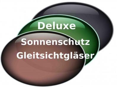 Deluxe Sonnenschutz Gleitsichtgläser  Hart Superentspiegelung