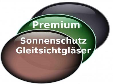 Premium Sonnenschutz Gleitsichtgläser Hart Superentspiegelung